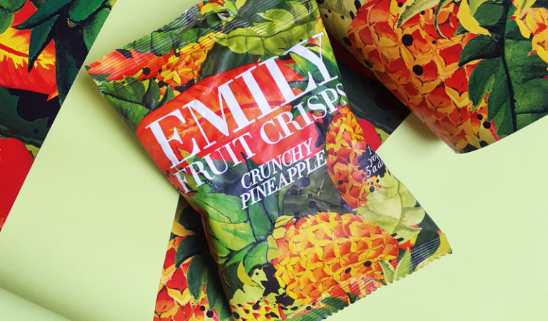 "Fruit that goes ""crunch"" with Emily"
